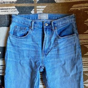 EVERLANE Cheeky Straight Jean - Size 27